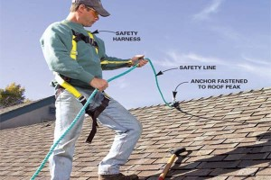 safety, roofing