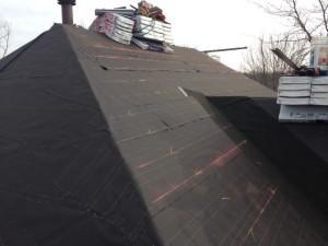 felt paper, roofing, roof, hamilton, company, contractor