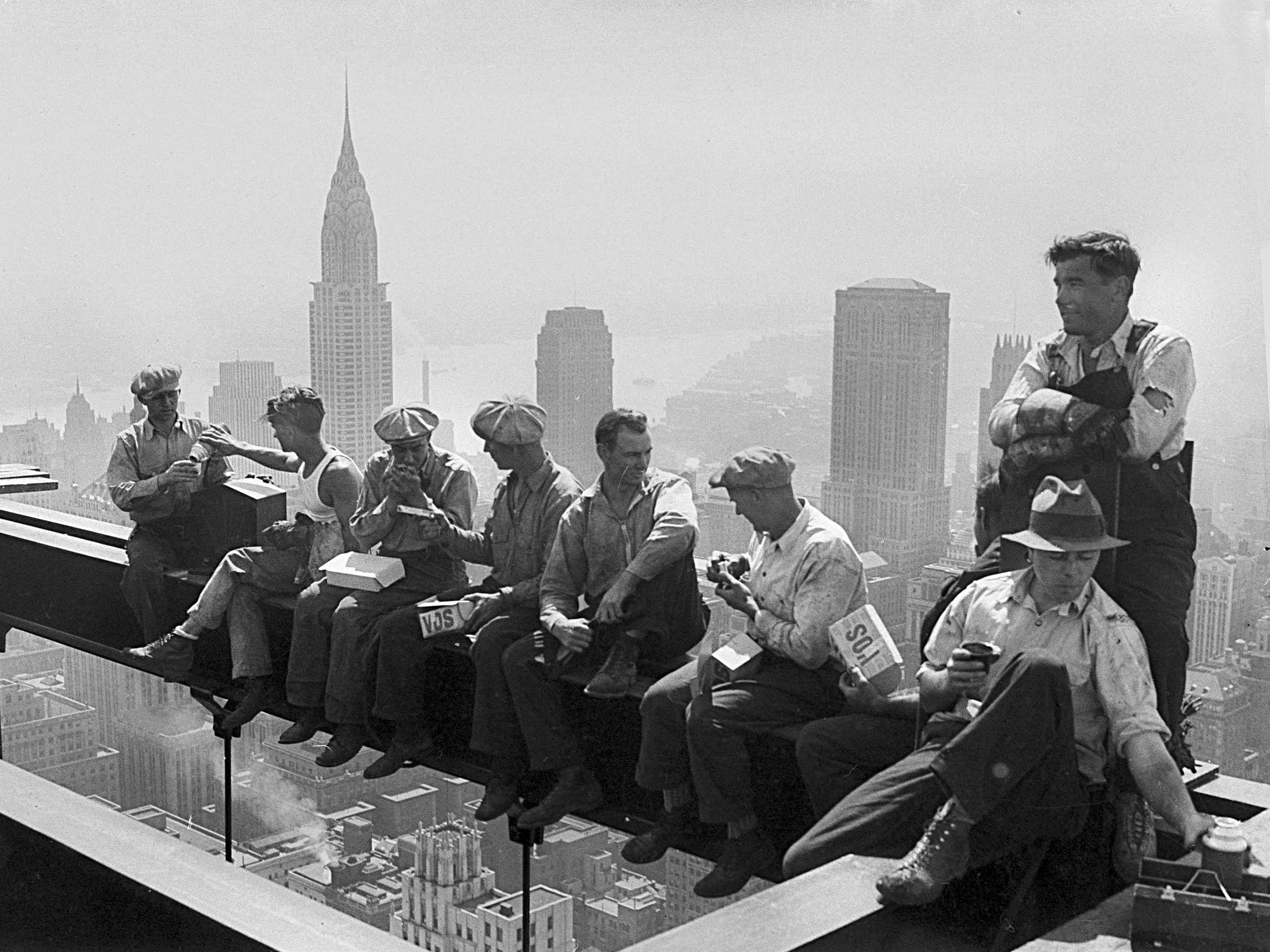 new york, city, high rise, roofing